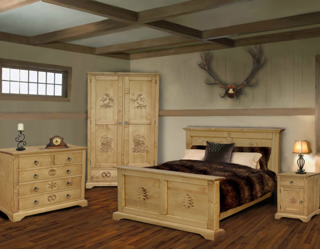 meuble chalet collection maria production. Black Bedroom Furniture Sets. Home Design Ideas
